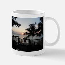 Sunset Doctor's Cave Jamaica Mugs