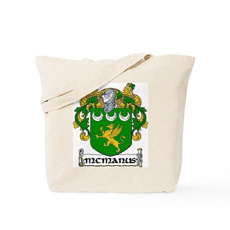 McManus Coat of Arms Tote Bag