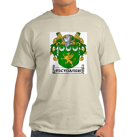 McManus Coat of Arms Light T-Shirt