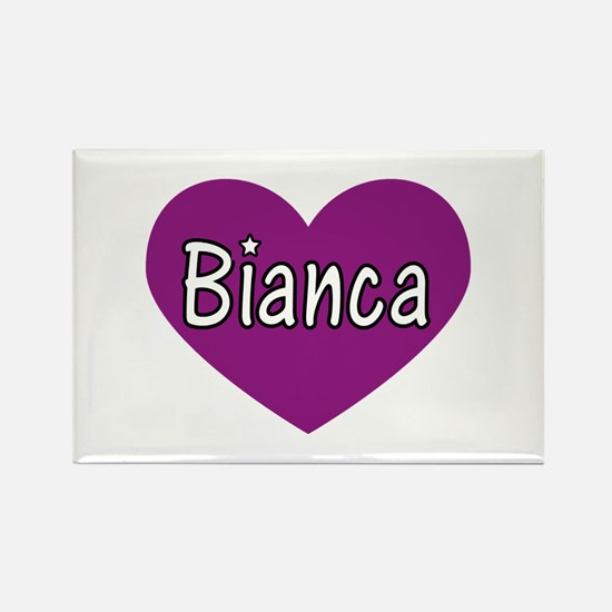 Bianca Rectangle Magnet