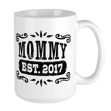 2017 mom Large Mugs (15 oz)