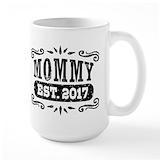 2017 mom Large Mugs (15 oz)
