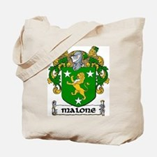 Malone Coat of Arms Tote Bag