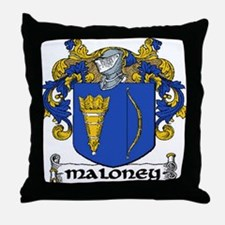 Maloney Coat of Arms Throw Pillow