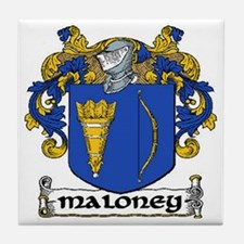 Maloney Coat of Arms Ceramic Tile
