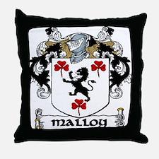 Malloy Coat of Arms Throw Pillow