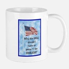 Press 1 for English Mug