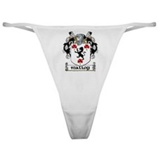 Malloy Coat of Arms Classic Thong