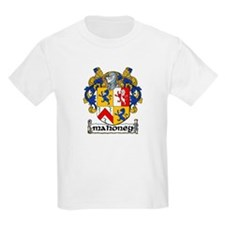 Mahoney Coat of Arms Kids T-Shirt
