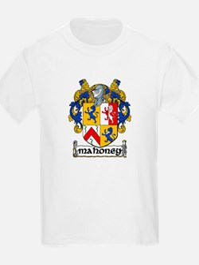 Mahoney Coat of Arms Kids T-Shirt