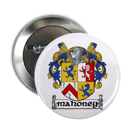 """Mahoney Coat of Arms 2.25"""" Button (10 pack)"""