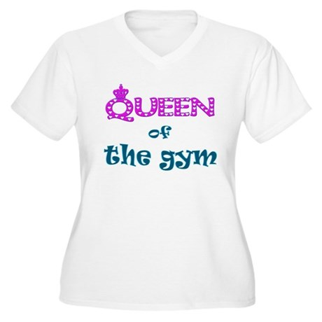 Queen of... Women's Plus Size V-Neck T-Shirt