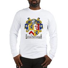 Mahoney Coat of Arms Long Sleeve T-Shirt