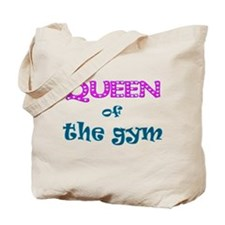 Queen of the gym Tote Bag