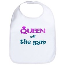 Queen of the gym Bib