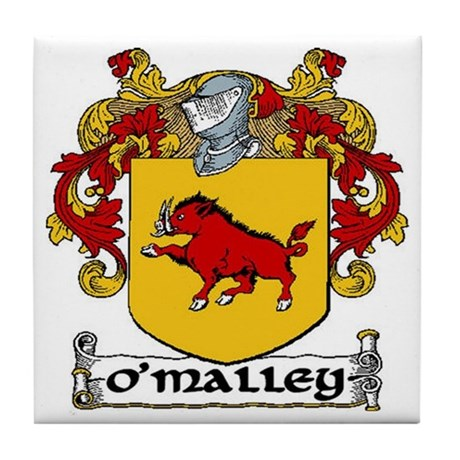 O'Malley Coat of Arms Ceramic Tile