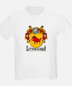 O'Malley Coat of Arms Kids T-Shirt