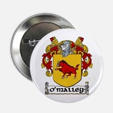 """O'Malley Coat of Arms 2.25"""" Button (10 pack)"""