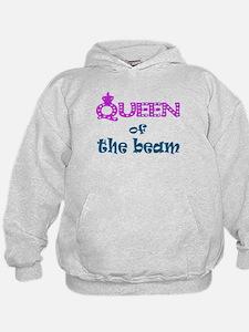 Queen of the beam Hoodie