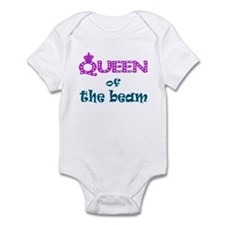 Queen of the beam Infant Bodysuit