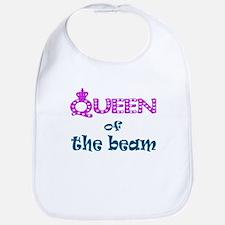 Queen of the beam Bib