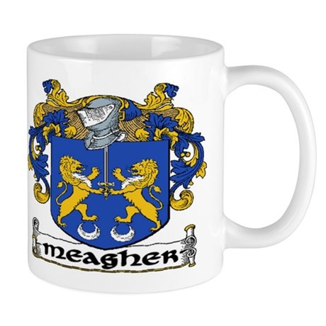Meagher Coat of Arms Mug