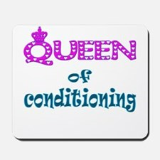 Queen of conditioning Mousepad