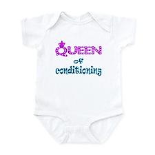 Queen of conditioning Infant Bodysuit