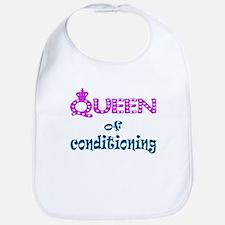 Queen of conditioning Bib