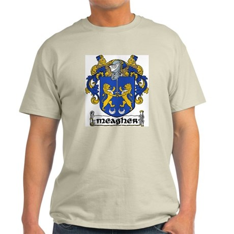 Meagher Coat of Arms Light T-Shirt