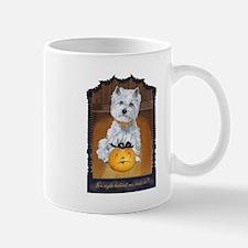 Westie Terrier Halloween Mug