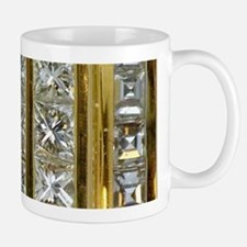 Yellow Gold and Diamond Bling Mugs