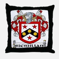 McMillan Coat of Arms Throw Pillow