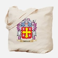 Scully Coat of Arms - Family Crest Tote Bag