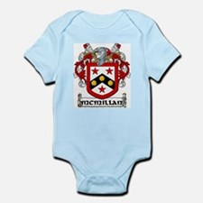 McMillan Coat of Arms Infant Creeper