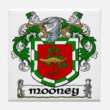 Mooney Coat of Arms Ceramic Tile