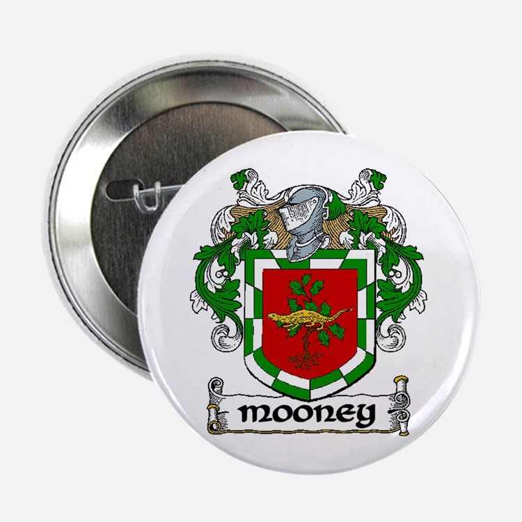 "Mooney Coat of Arms 2.25"" Button (10 pack)"