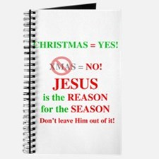 Jesus Christmas Journal