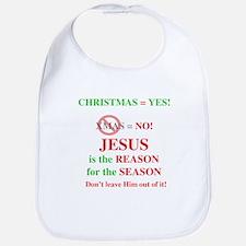 Jesus Christmas Bib