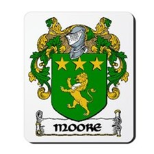Moore Coat of Arms Mousepad