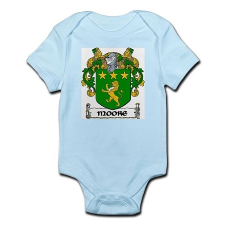 Moore Coat of Arms Infant Creeper
