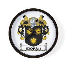 Moran Coat of Arms Wall Clock