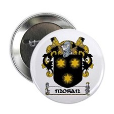 "Moran Coat of Arms 2.25"" Button (10 pack)"