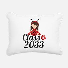 Class of 2033 Rectangular Canvas Pillow
