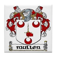 Mullen Coat of Arms Ceramic Tile