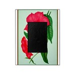 Red Morning Glorys Picture Frame