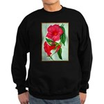 Red Morning Glorys Sweatshirt
