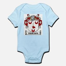 Mullen Coat of Arms Infant Creeper