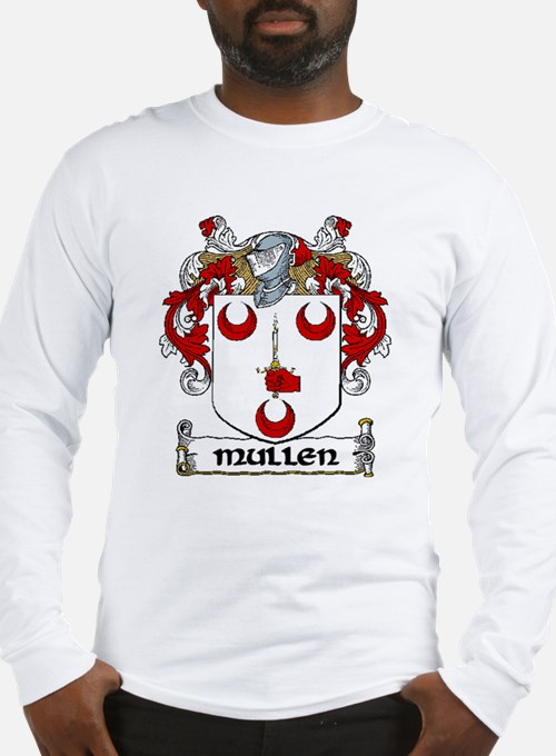 Mullen family crest gifts merchandise mullen family for Shirts for men with long arms