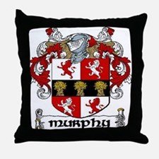 Murphy Coat of Arms Throw Pillow